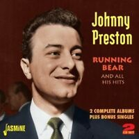 Johnny Preston - Running Bear & All His Hits-2 Complete Albums Plus [New CD] UK