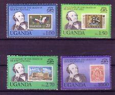 Uganda Michelnummer 254 - 257 postfrisch ( Hill : 39)