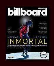 MICHAEL JACKSON - Billboard Argentina Magazine # 6 January  2014