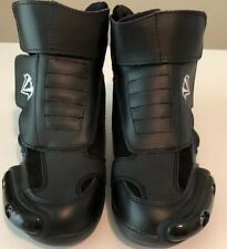 NOS VEGA MERGE - Womens Boots Black Size 7 New Motorcycle Shoes