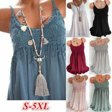Women Summer Crew Neck Tank Top Dress Solid Casual Tassel Midi Dress Beach Dress