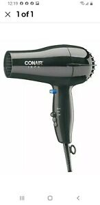 Conair Hairdryer, Handheld, Black, 1875 Watts - 247BW. FREE SHIPPING!