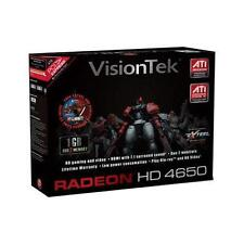VisionTek ATI Radeon HD 4650 1GB DDR2 SDRAM PCI Express 2.0 Graphics Card Sealed