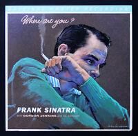 MFSL LP  FRANK SINATRA  ** NEW PROMO **   WHERE ARE YOU?   Mobile Fidelity  MoFi