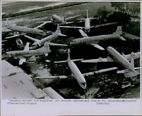 LG773 1978 Orig Photo OLD PLANES Scrapped Ft Lauderdale Hollywood Intl Airport