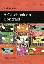 A Casebook on Contract by Andrew Burrows (Paperback, 2016)