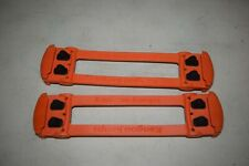 Pair Kangoo Jumps Authentic Replacement T-Springs TS-Pro6 Orange