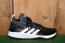 ADIDAS Cloudfoam 'Ilation Mid 2.0' Black & White Basketball Shoes Men's Sz. 9