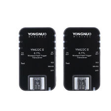 Yongnuo YN-622C II HSS TTL Transceivers KIt for Canon 760D 750D 5DII 5DIII 60D