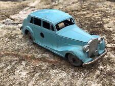 Mettoy 505 Rolls Royce clockwork original play worn vintage toy hard to find
