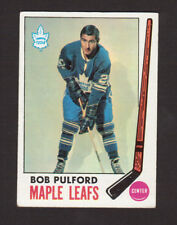 Bob Pulford Toronto Maple Leafs 1969-70 Topps Hockey Card #53 EX/MT