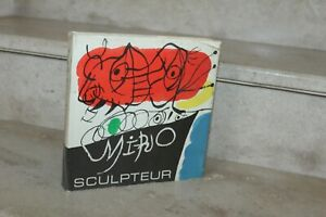 MIRO Jacques DUPIN - Miro sculpteur (ed de 1972)