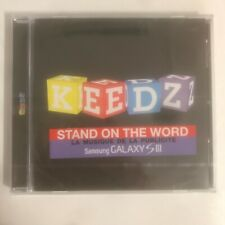 Keedz Stand On The Word cd 11 titres neuf sous blister