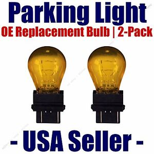 Parking Light Bulb 2 pack OE Replacement Fits Listed Chevrolet Vehicles - 3157A