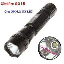 UltraFire WF-501B Cree XM-L2 U3 1600 Lumens 5 Modes Led Flashlights 18650 Torch
