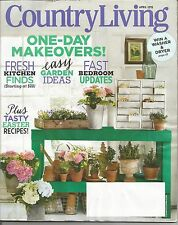Country Living Magazine - April 2015 - One-Day Makeovers!  Easy Garden Ideas