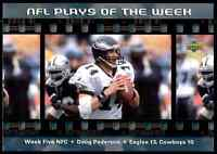 2000 OVERSIZE #5N Doug Pederson RARE Philadelphia Eagles - NFL Play of the Week