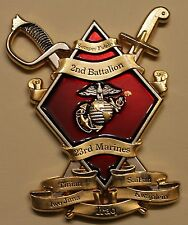 2nd Battalion 23rd Marines Goat Locker Chief's Marine / Navy Challenge Coin