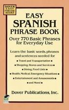 Easy Spanish Phrase Book by Dover Language Guides (1994 Paperback