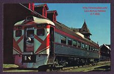 LMH Postcard DOMINION ATLANTIC Rail Diesel Car RDC DA 9059 Canadian Railway 1967