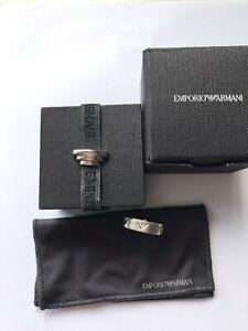 Emporio Armani Silver 925 Ring Size K