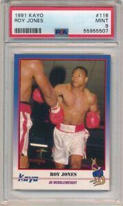 ROY JONES 1991 KAYO #116 RC ROOKIE BOXING CARD PSA 9 MINT