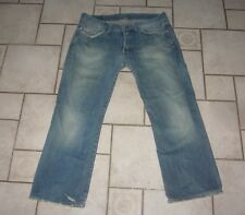 G-STAR LOW LOOSE Jeans Hose BOOT-CUT USED BLEACHED W38L34 L32 W38