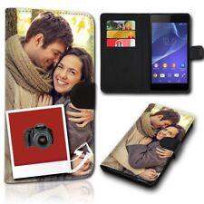 SAMSUNG Galaxy S9 Plus, Handytasche Schutzhülle Tasche Handy Hülle, mit 2 Fotos