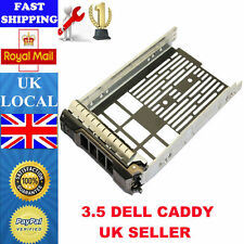 "Dell 3.5"" SAS SATA Tray Caddy 0G302D 0F238F 0X968D R720 R710 R520 R510 R420 R410"