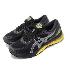 Asics Gel Nimbus 21 2E Wide Black Lemon Spark Men Running Shoes 1011A172-003