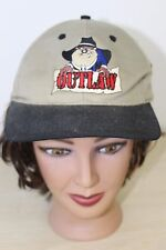Looney Tunes Taz Cowboy Outlaw Tazmanian Devil Baseball Trucker Cap Hat Snapback