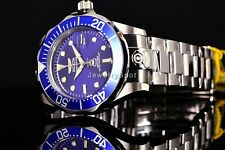 Invicta 47mm Grand Pro Diver Automatic Blue Dial Steel Bracelet 24 Jewels Watch