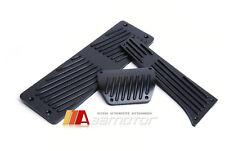 Matte Black Auto AT Pedals Gas Brake Footrest BMW E30 E34 E36 E38 E65 X3 X5 Z3