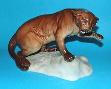 Beswick  ornament  figurine  ' Puma on a rock '  #1823 gloss 1st Quality (6101)
