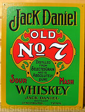 Jack Daniels Sour Mash LICENSED TIN SIGN REPRODUCTION bar wall decor 779