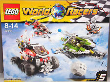 LEGO WORLD RACERS 8863 tormenta in Antartide Blizzard's Peak NUOVO