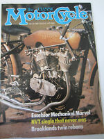 The Classic Motorcycle Magazine December / January 1982 Excelsior Mechanical