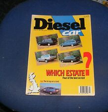 DIESEL CAR ISSUE 22 JULY 1990 - WHICH ESTATE? FOUR OF THE BEST ON TEST