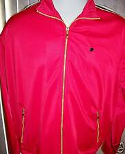 REVERB TANGO RED Mens Zippered Jacket Size XXLarge New with Tags