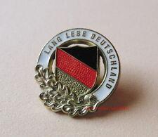 Pin LANG LEBE DEUTSCHLAND Flagge Eichenlaub - 14