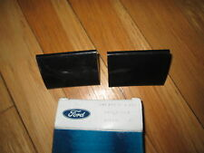 NOS 1980 - 1989 FORD F100 F250 F350 REAR AXLE BUMPERS PAIR