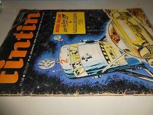 libro: TINTIN-LE JOURNAL DES SUPER JEUNES DE 7 A 77 ANSN .1248 28/9/1972