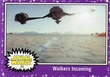 2017 Journey to Star Wars The Last Jedi Walmart Purple Parallel card #102 NM