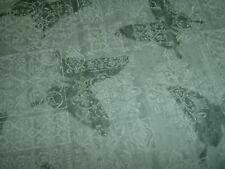 Butterfly Schmetterling Falter grau weiß Baumwolle Patchworkstoff