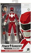 Power Rangers Lightning Collection Mighty Morphin Red Ranger Figure Nib/Sealed
