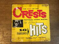 Crests LP - 16 Fabulous Hits The Best Of - Coed LPC 904