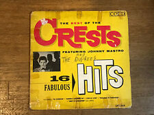 Crests LP - 16 Fabulous Hits The Best Of - Coed LPC 904