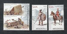 Moldova Moldawien 2012  MNH** Mi. 795-798 Ancient Weapons
