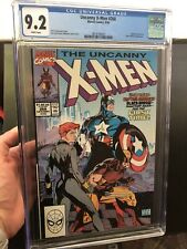 Uncanny X-Men #268 Jim Lee CGC 9.2 Captain America Black Widow Wolverine Movie