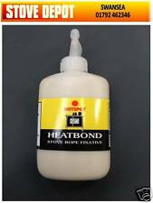 Heatbond Stove Rope Adhesive Glue and Fires  LARGE 125 ml